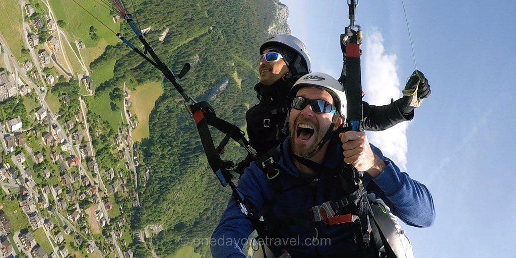 bapteme parapente alpes blog voyage