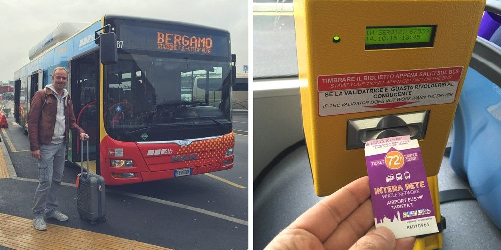 bergamo bus airport