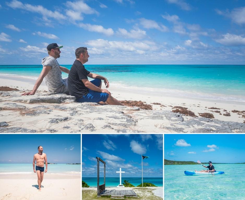 blog voyage aux bahamas plage mer turquoise