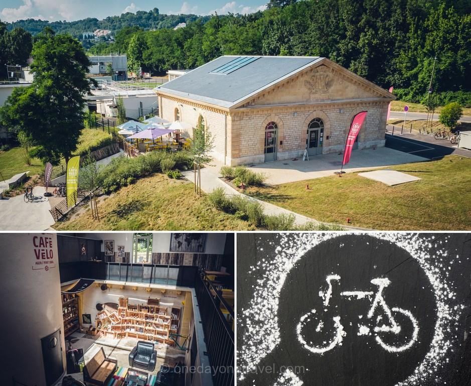 café vélo blog voyage agen