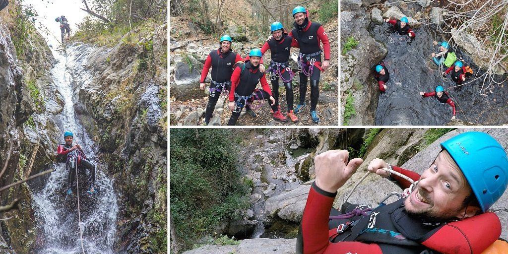 canyoning thues pyrenees catalanes