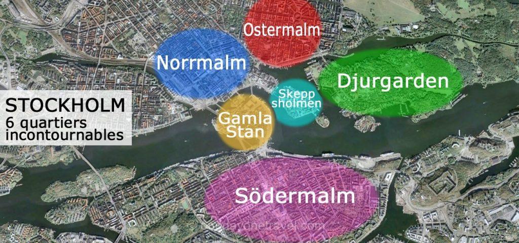 Visiter Stockholm 6 quartiers incontournables