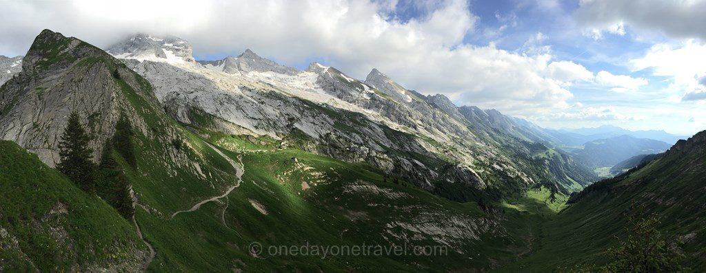 chaine des aravis sentier Alpes