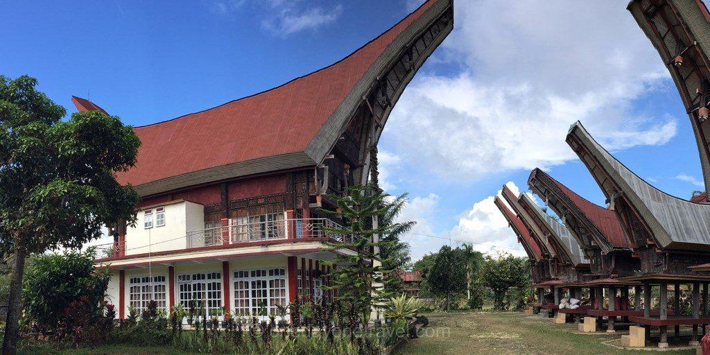 Architecture toraja Sulawesi Célèbes
