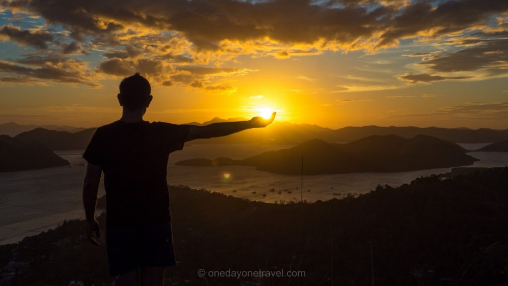 coron sunset Philippines Franck