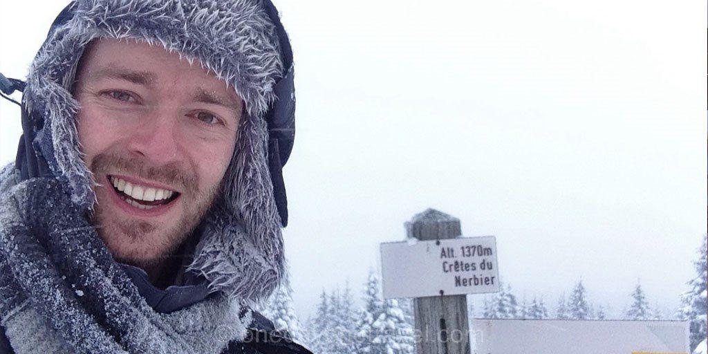 crete du nerbier la pesse Montagnes du Jura