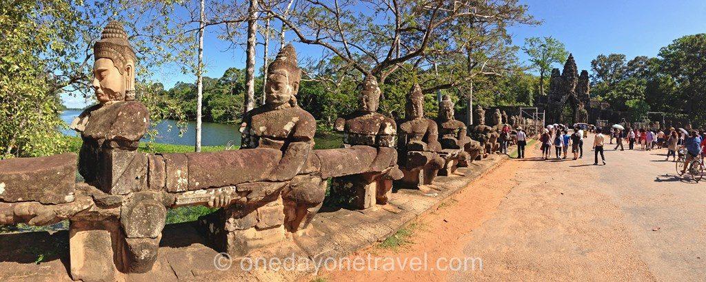 entree Ta Thom Angkor temple