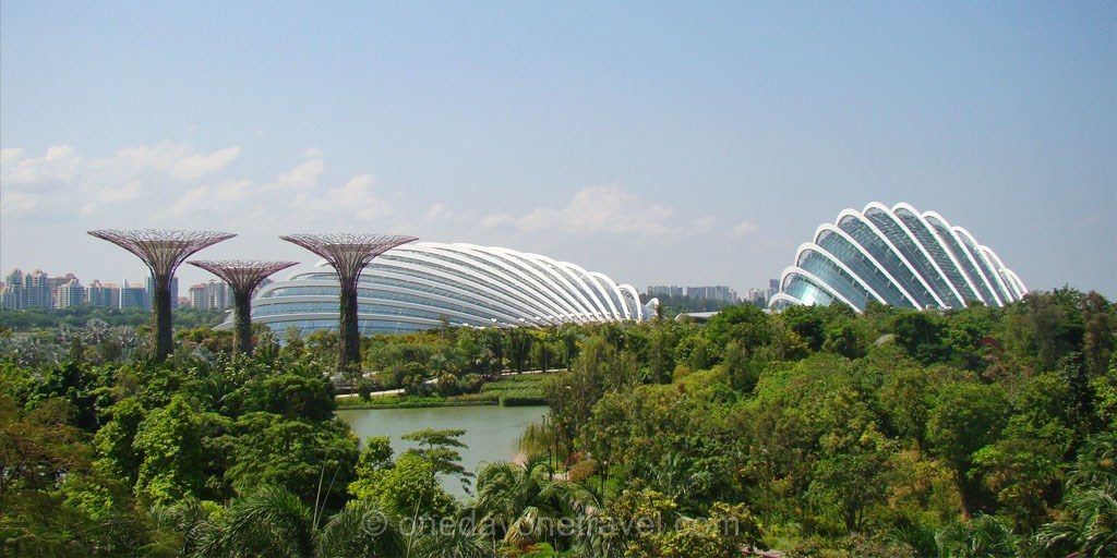 escale singapour gardens by the bay