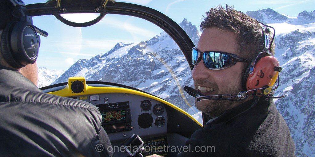 franck avion survol alpe huez