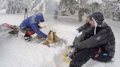 Photo of Randonnée raquettes à neige entre Lajoux et La Pesse en hiver