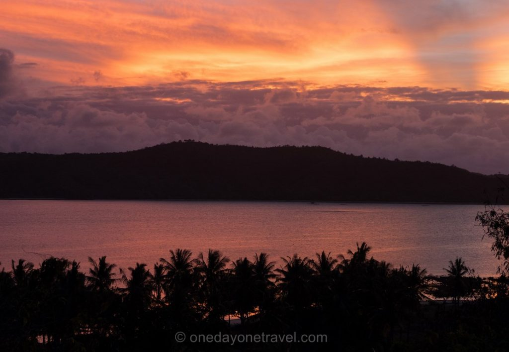 gili asahan blog voyage indonésie sunset