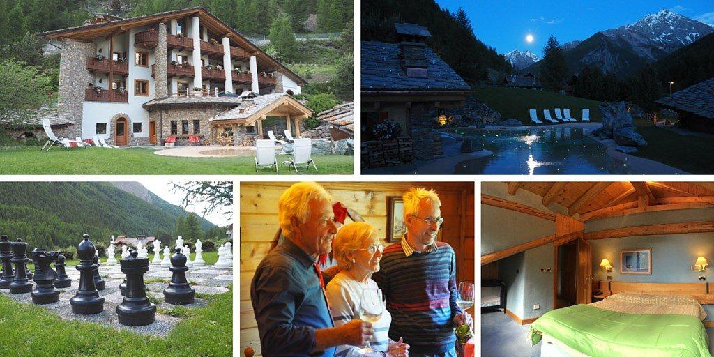 hotel cogne Alpes Blog Voyage