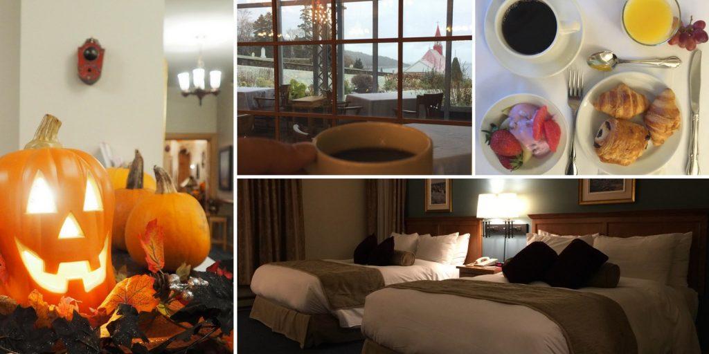 hotel tadoussac halloween blog voyage