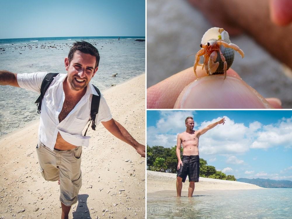 plages de rêve Gili Islands