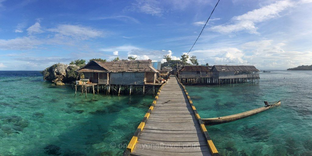 iles togian ile bajo malenge Sulawesi Célèbes