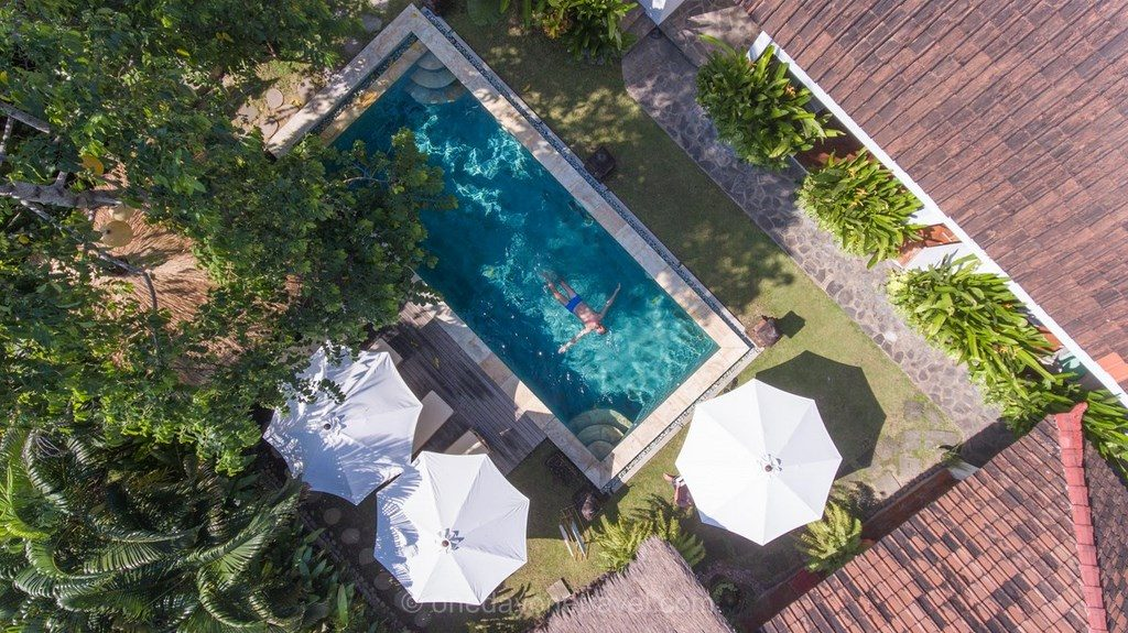 3 semaines à bali java gilis piscine papaya
