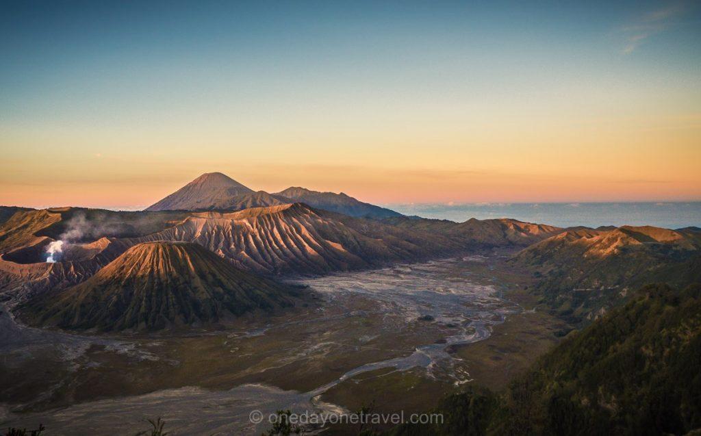 itinéraire bali java gilis volcan Bromo