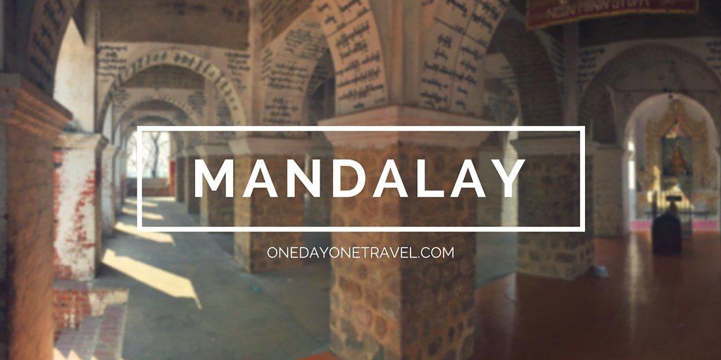 itineraire birmanie mandalay
