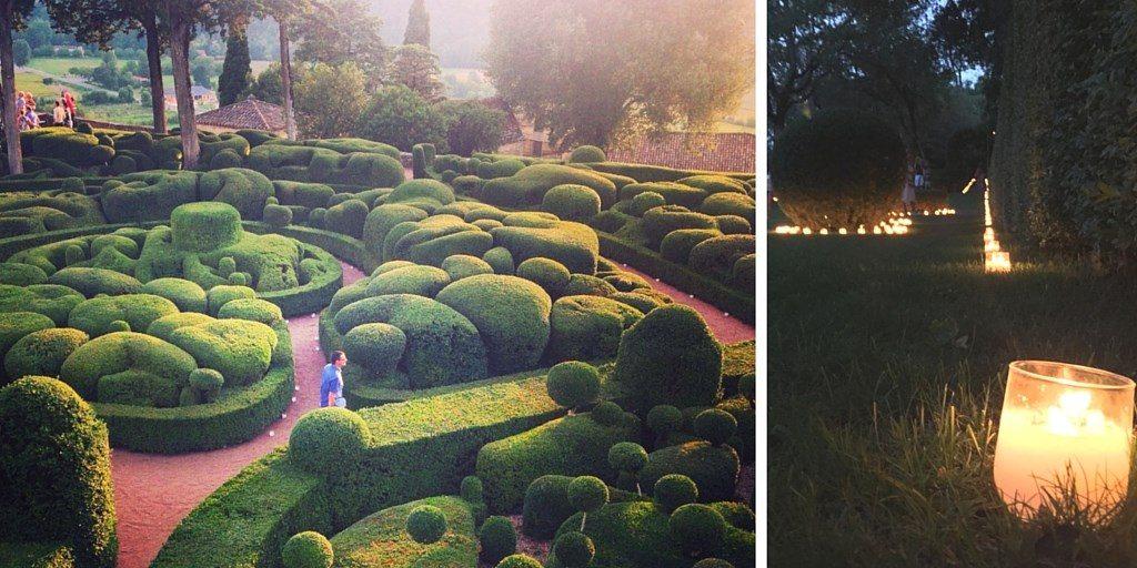 jardin marqueyssac Voyage en Périgord