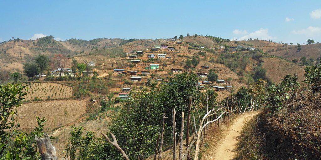 kalaw trek Birmanie Myanmar