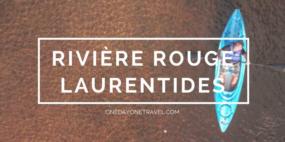 kayak cafe riviere rouge les laurentides blog voyage