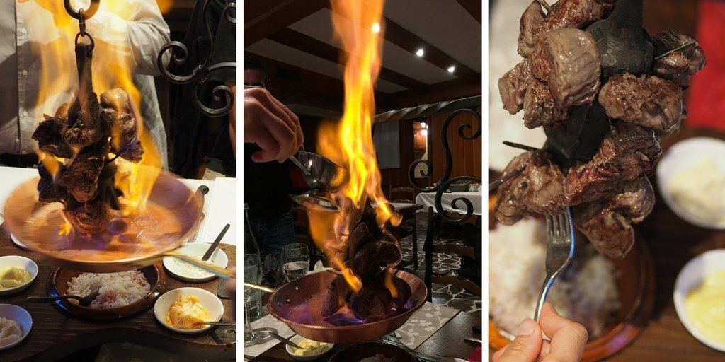 la potence gastronomie Alpes
