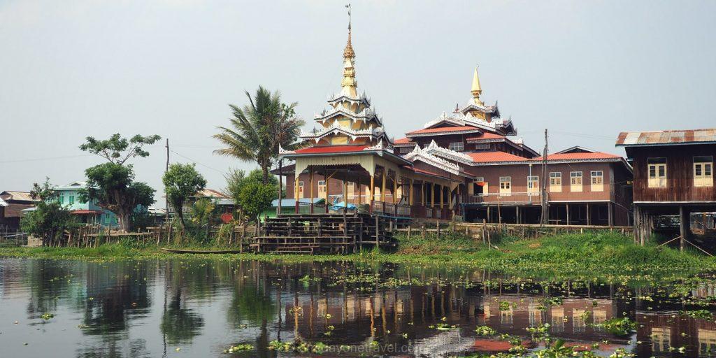 lac inle monastère Nga Phe Chaung