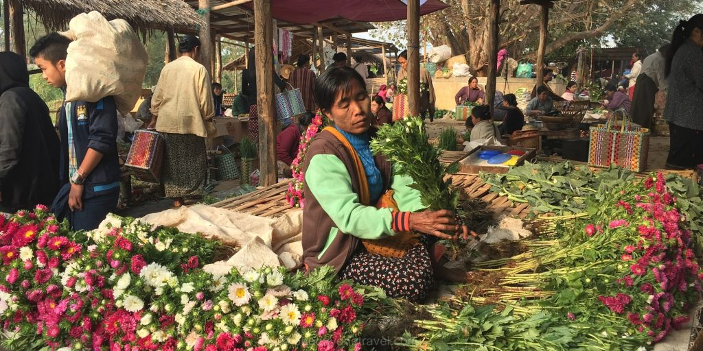 lac inle marché Birmanie
