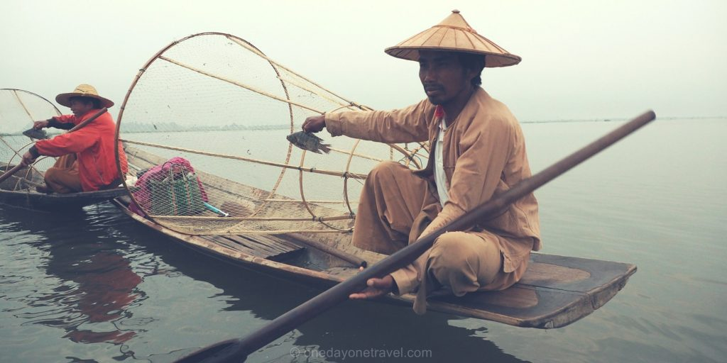lac inle pêcheur traditionnel