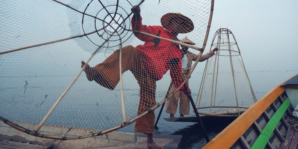 lac inle pecheurs Myanmar