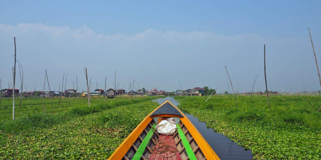 lac inle pirogue Birmanie Myanmar