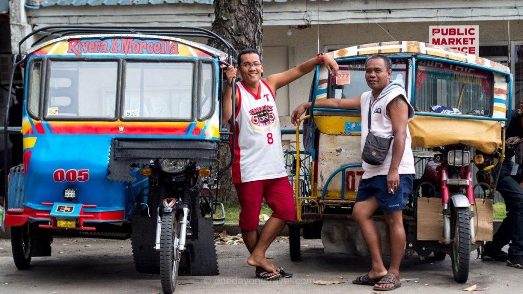 marché Negros tuktuk