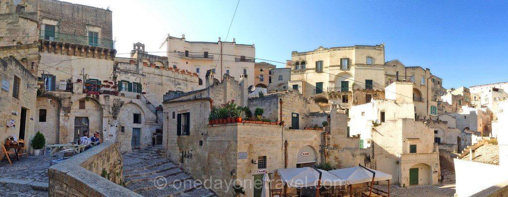 matera vieille ville Italie Basilicate