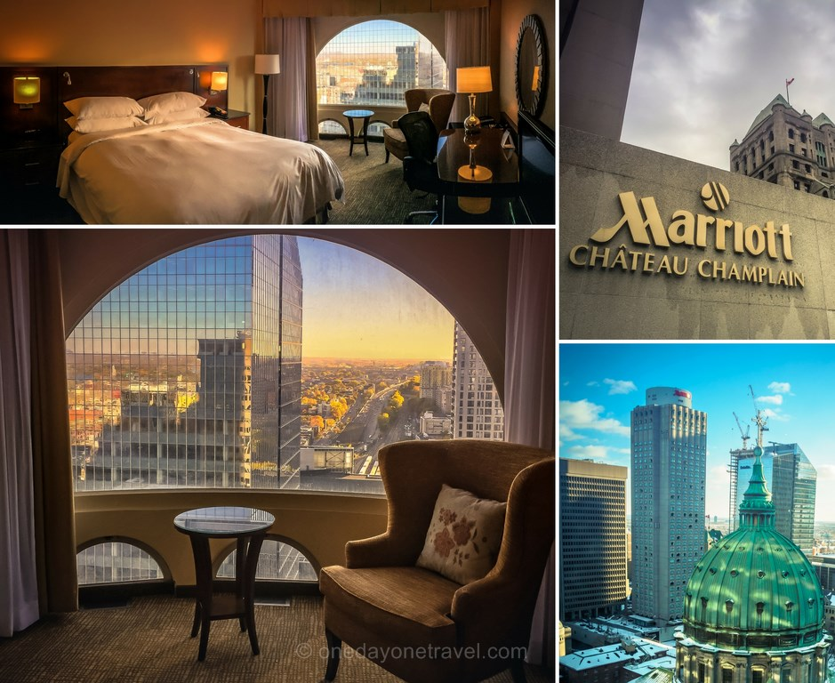 Dormir à Montréal Marriott Champlain