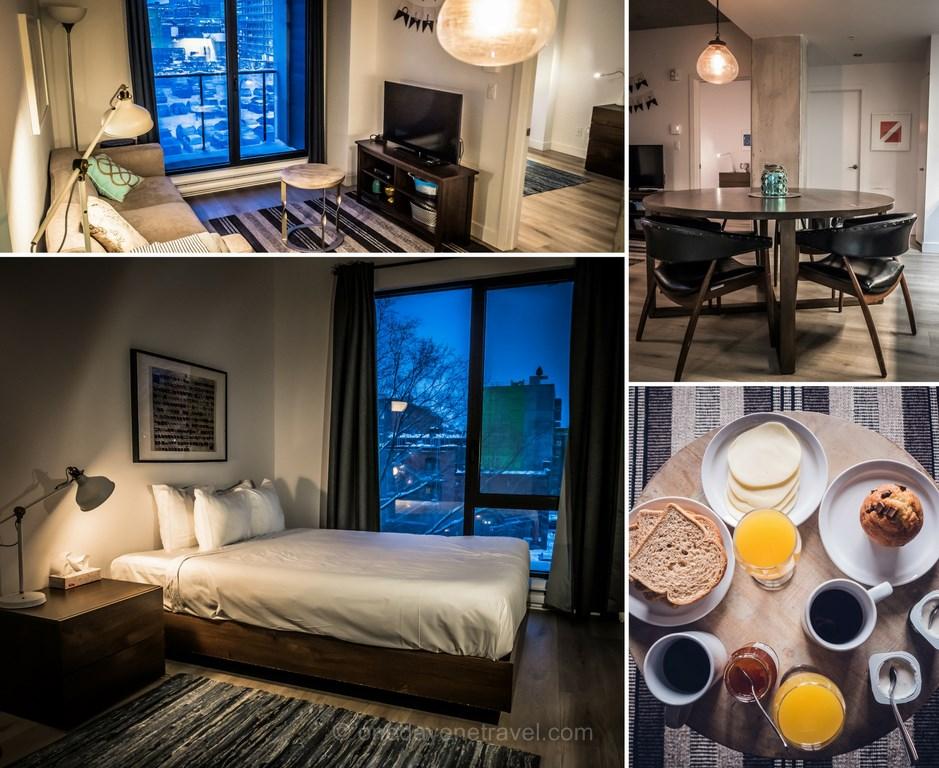 où dormir à Montréal abritel appartement centre