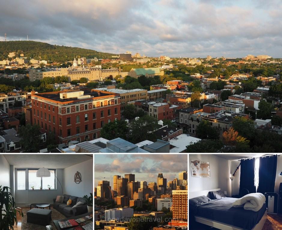 où dormir à Montréal  airbnb lafontaine Montréal vues