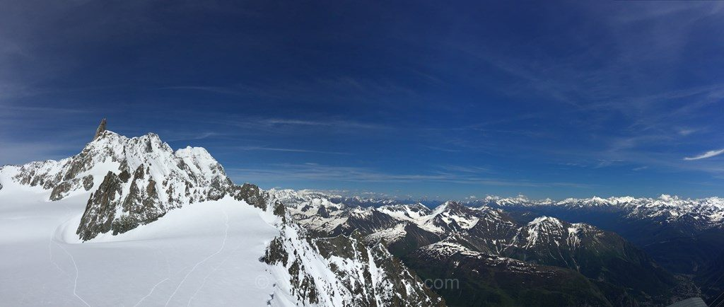 panarama Skyway Alpes