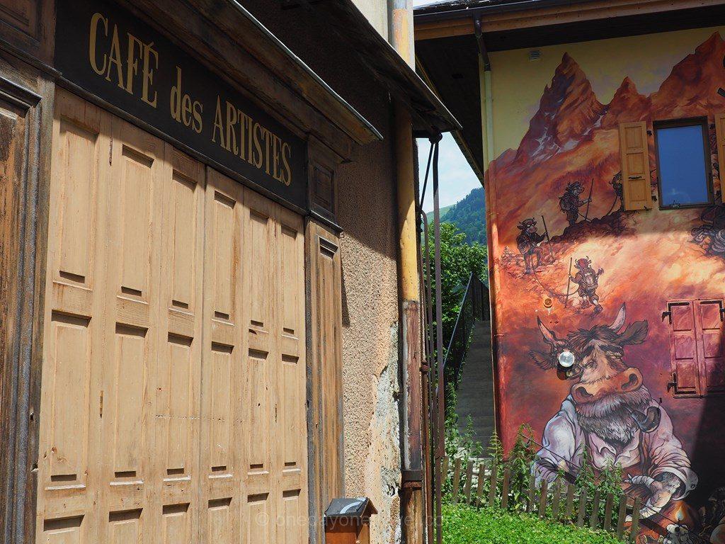 parcours Art Vache Grand Bornand