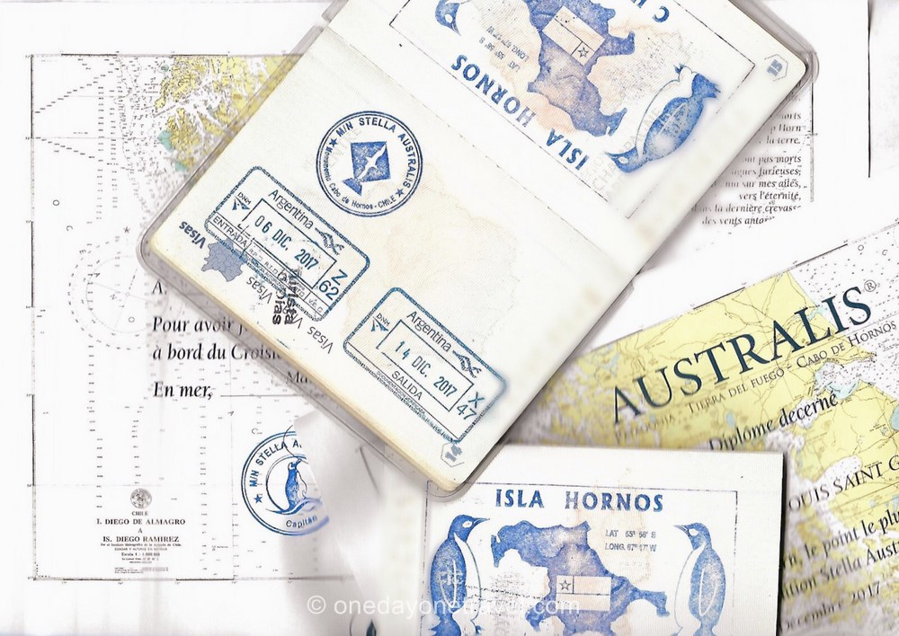 passeport tampon diplome cap horn