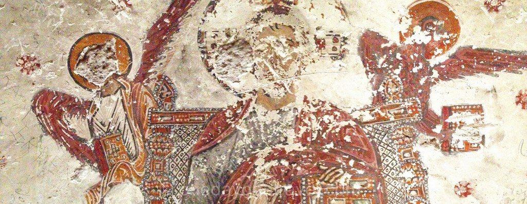 Peinture rupestre Matera Italie