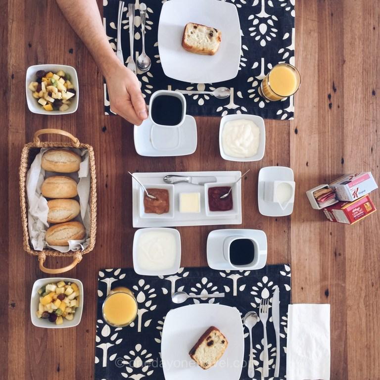 petit dejeuner guanahani