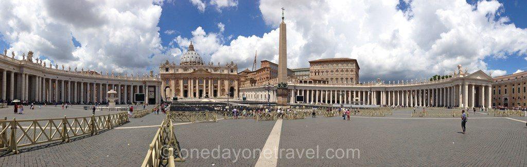 Visiter Rome et la Place Saint-Pierre