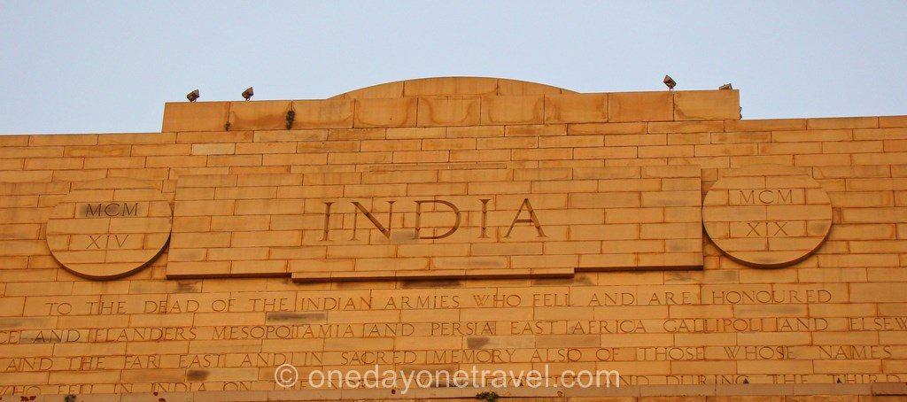 porte de l'inde new delhi zoom