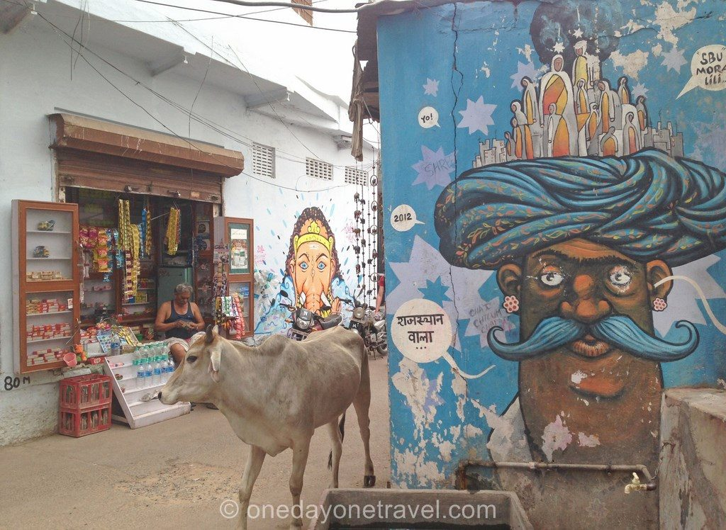 pushkar vache street art