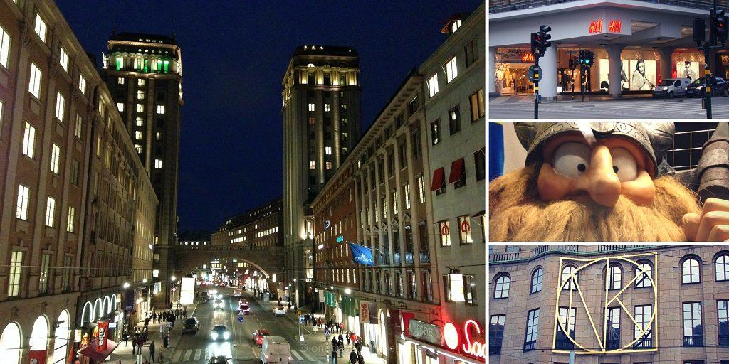 Visiter Stockholm quartier norrmalm shopping