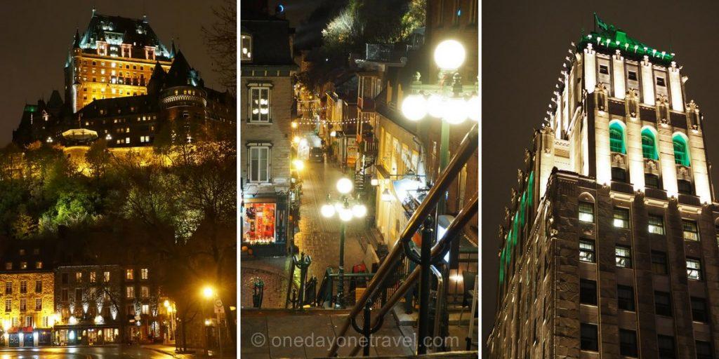 Visiter Québec by night