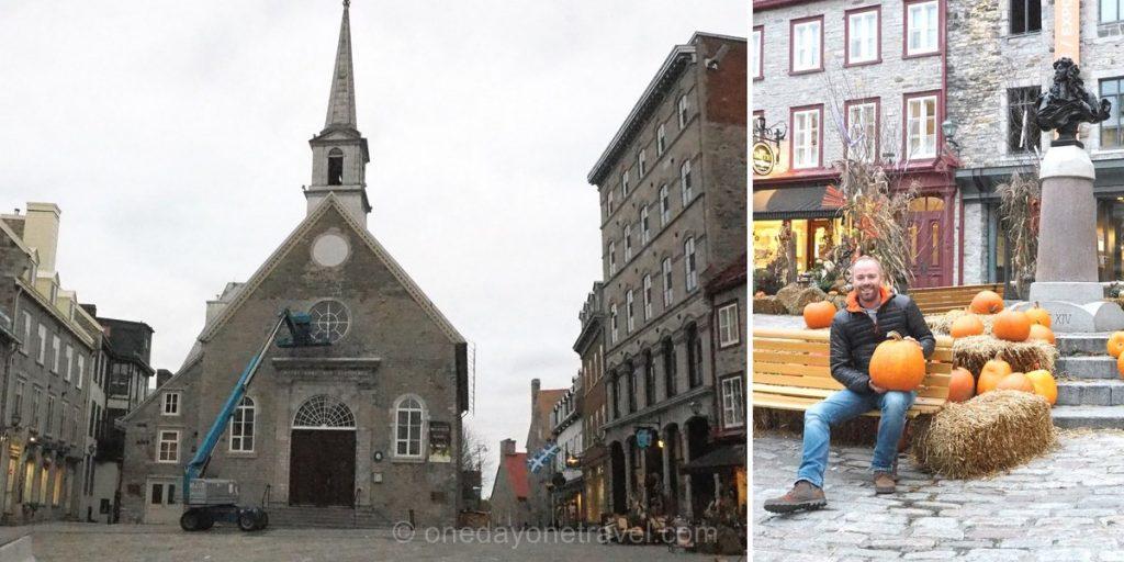 Visiter Québec Place Royale