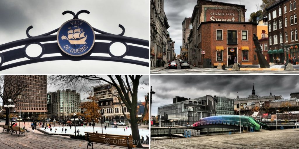 quebec city visite de jour vieille ville