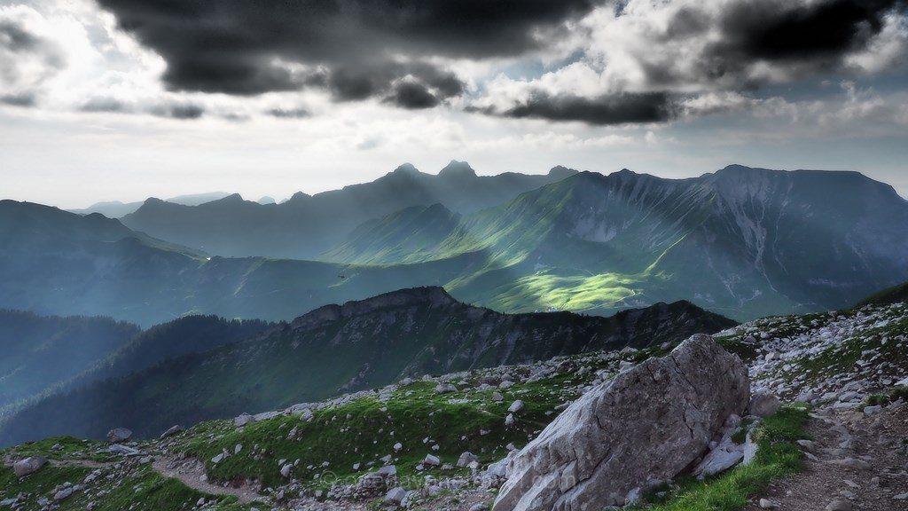 randonnée gramusset Grand Bornand