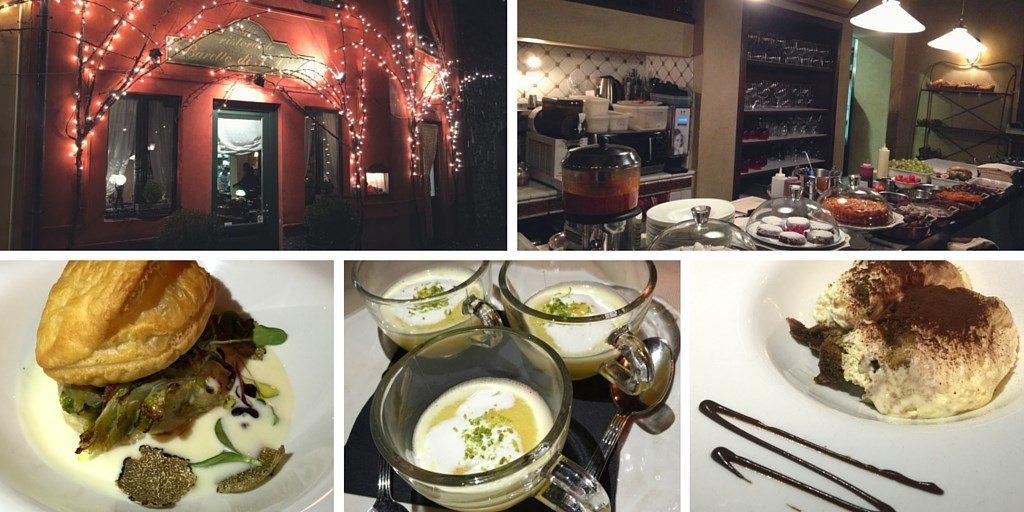 restaurant romantique Bergame